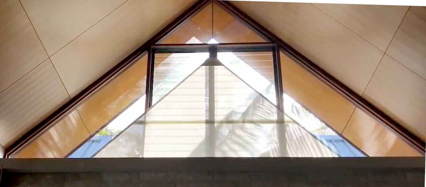 Complex Shaped Window Solutions Living Shade